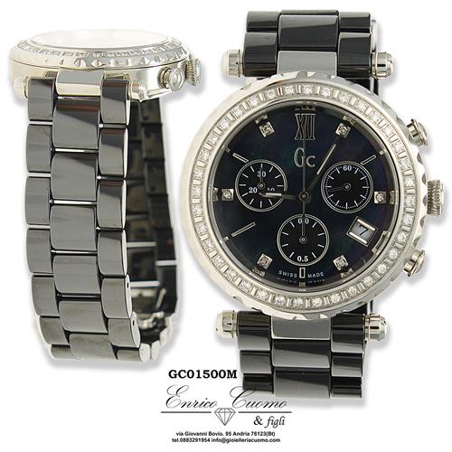 Orologio GUESS COLLECTION GC01500M 00714 diamanti e ceramica